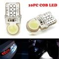 T10 194 168 W5W COB 8 SMD LED CANBUS Кремнезема Яркий Белый Свет Лицензии Лампы