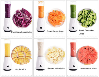 Beijamei 300W Mini Juicer Blender Electric fruit Carrot Lemon Juicer Machine smoothie portable Juicer blender 1