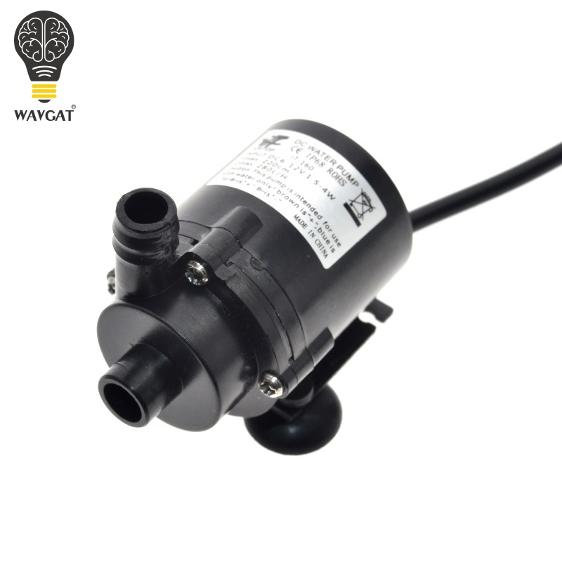 WAVGAT 6 v 12 v DC Bürstenlosen Kleinen Wasserpumpe Motor Pumpe DIY Hardware Pumpe Werkzeuge 1,8 mt 280L/ H