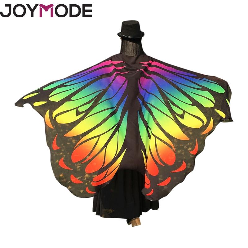 JOYMODE 2017 New Butterfly Beach Cover Up Wings Shawl Women Dress Sarong Beach Suit Pareo Bathing Suit Chiffon Robe De Plage -C