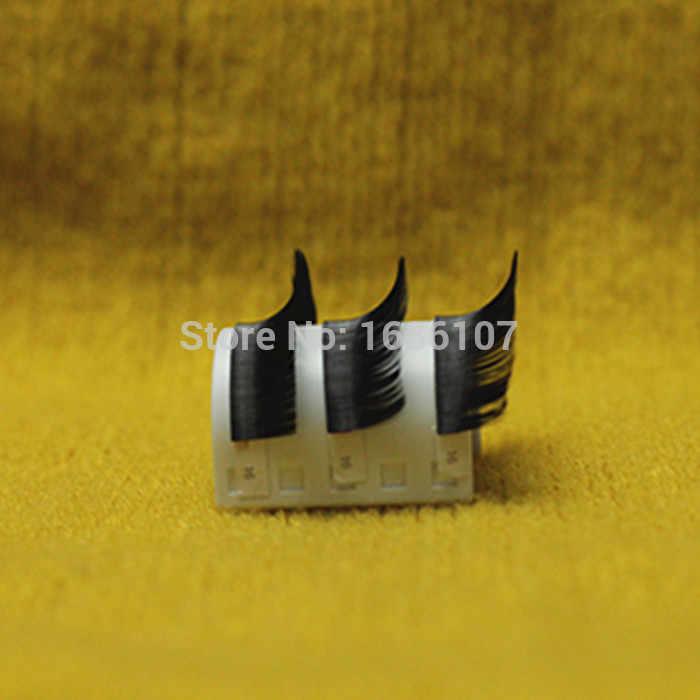 Все Размеры J B C D Curl 4 шт./партия Очаровательные ресницы накладные ресницы индивидуальные искусственные накладные ресницы