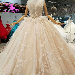 Image 4 - AIJINGYU Wedding Dresses Sequin Budget Gown Russian Luxury Newest Supplies White Long Bridal Gowns Wedding Dress Store