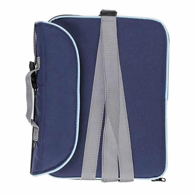 ขายร้อนแบบพกพาพับเก้าอี้รับประทานอาหาร 30*25*8 ซม.(11.8x9.8x3.1 นิ้ว) เด็กกระเป๋าเดินทางกระเป๋าเดินทางพับ S
