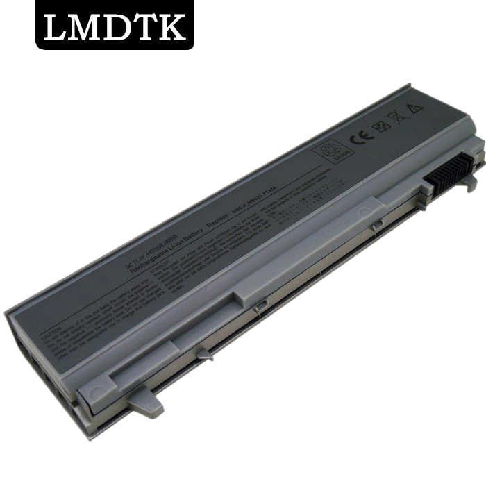 LMDTK New 6 cells laptop battery FOR DELL Latitude E6400 E6500 <font><b>E6410</b></font> E6510 precision M2400 M4400 KY266 KY268 KY265 PT434 image