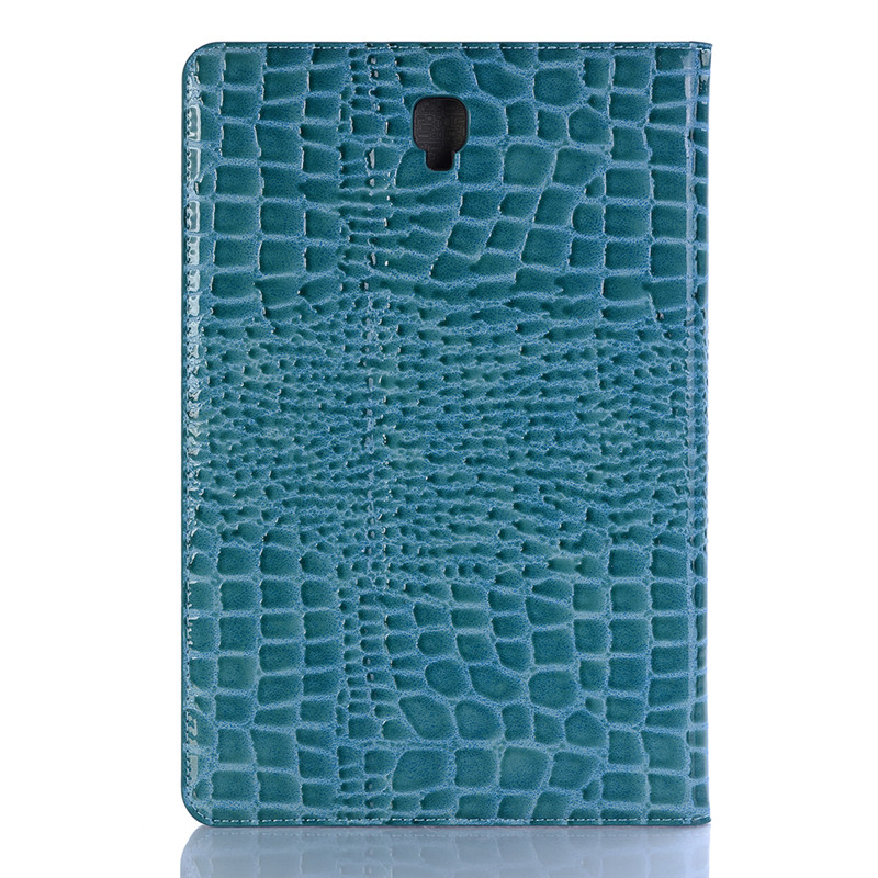 2018 New Crocodile Leather Magnetic Smart Case For Samsung Galaxy Tab S4 10.5 T830 T835 T837 Card Slot Tablet Cover