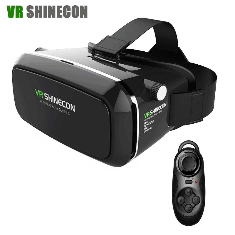 VR Shinecon Virtual Reality 3D Glasses Head Mount google cardboard VR font b Headset b font