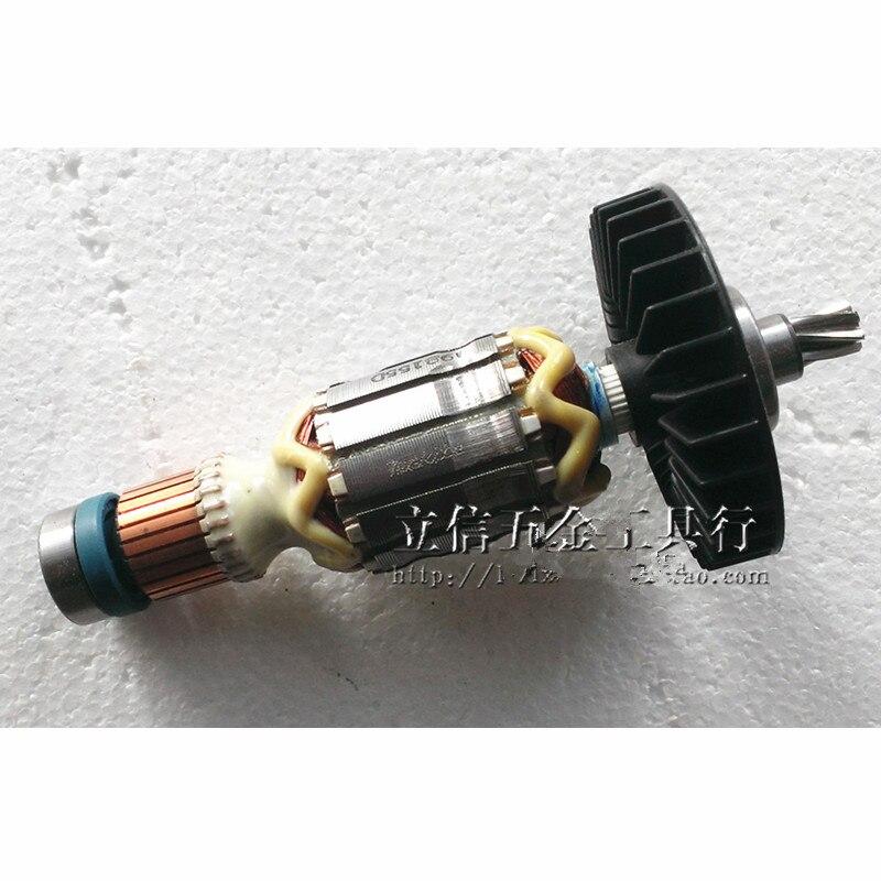 Фото 220-240V Rotor Motor Armature for MAKITA 515354-7 HR2300 HR2320T Anchor