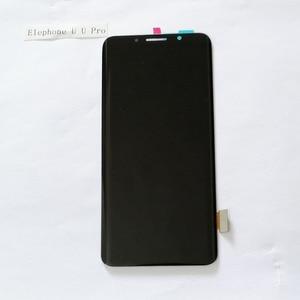 Image 3 - 100% Elephone U U 프로 AMOLED LCD 디스플레이 + 터치 스크린 디지타이저 어셈블리 교체 부품 5.99 인치 18:9 있음