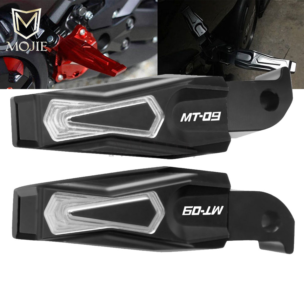 For Yamaha MT-09 MT09 MT 09 2013-2018 2014 2015 2016 2017 Footrest Motorcycle Rear Passenger Foot Pegs Pedals Folding Rearset