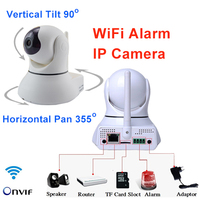 Wireless IP Camera Wifi 720P Smart CCTV Camera Security Camera Network Pan Tilt P2P Audio Alarm