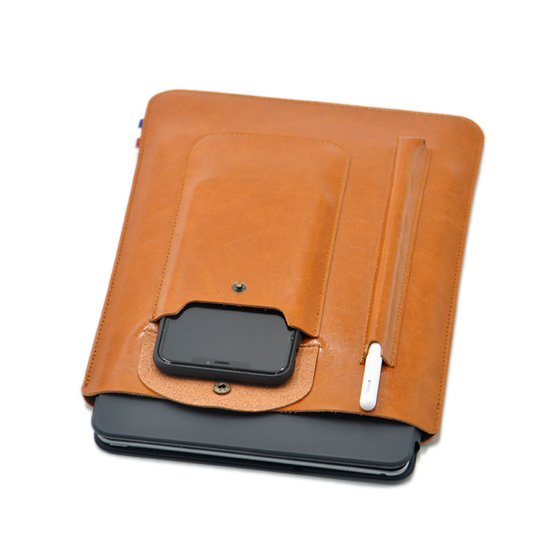 Multi-function ultra-thin super slim sleeve pouch cover,microfiber leather tablet