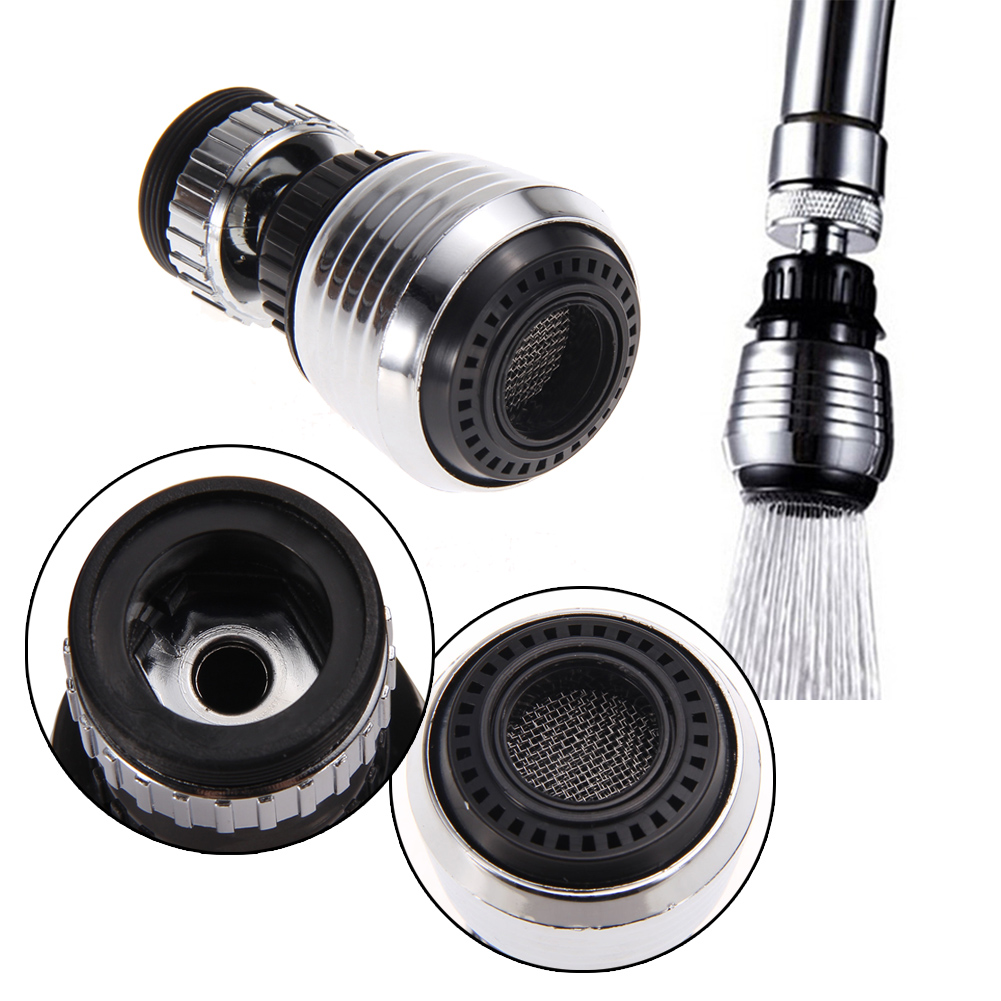 new tap water saving nozzle faucet filter bathroom sink aerator kitchen faucet accessories head adapter spout - Kitchen Sink Aerator