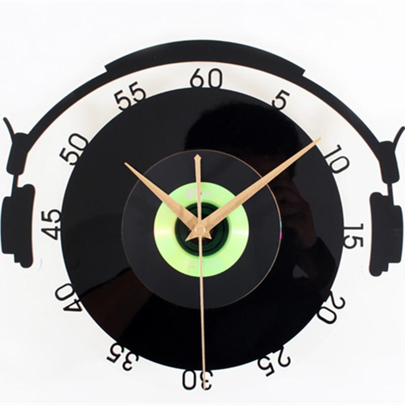 Popular Music Wall Vinyl ClockBuy Cheap Music Wall Vinyl Clock