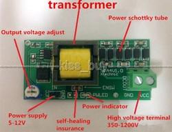 Высокая Напряжение DC-DC повышающий преобразователь постоянного тока входного сигнала 3V-5V Шаг до выхода 300v-1200v 400V 900V 1000V Регулируемый Мощность...