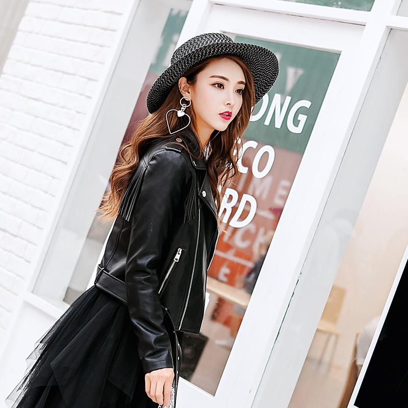 Gamme Haut Taille Automne Black Gland Cuir Personnalisation Femmes Grande En Pu Vestes Manteau Nouvelle Unique De Veste Moto Marques 2019 7a8wqv7