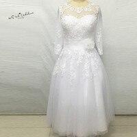 Cheap Alibaba China Short Wedding Dress Vintage Wedding Gowns Princess Knee Length Lace Bridal Dresses Vestido