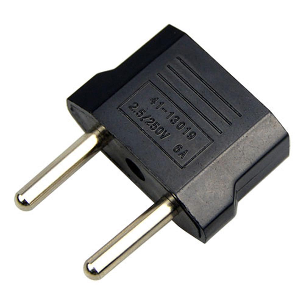 1Pcs 220V/5A EU Plug Socket Adapter Portable Pactical Adapter Dual-use Socket Black Color Transform Plug Socket Adapter