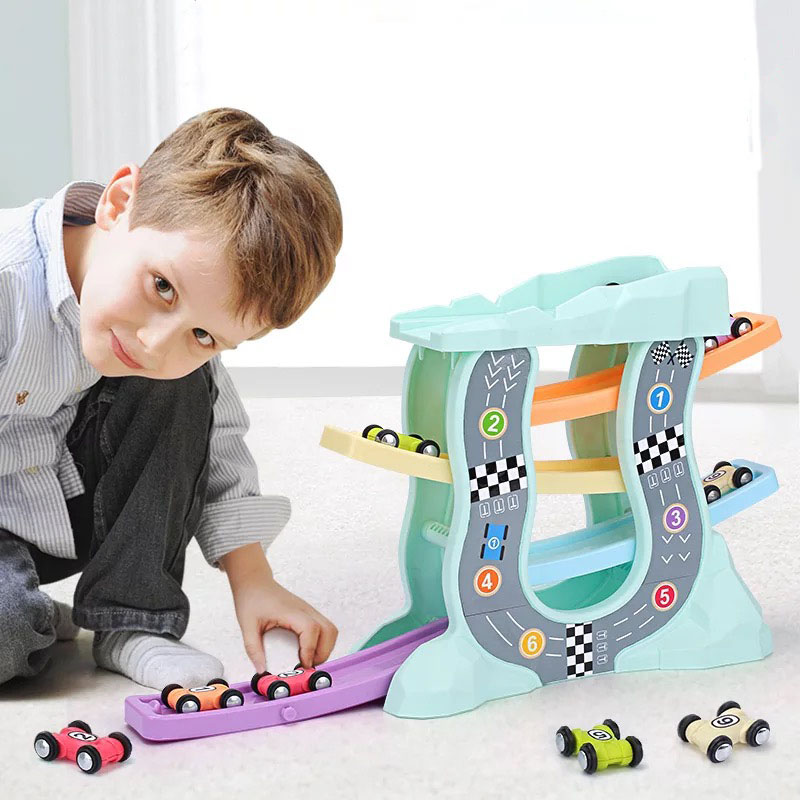 Gliding Cars Racing Games Toddler Toys For 1 Year Old Boy -8301