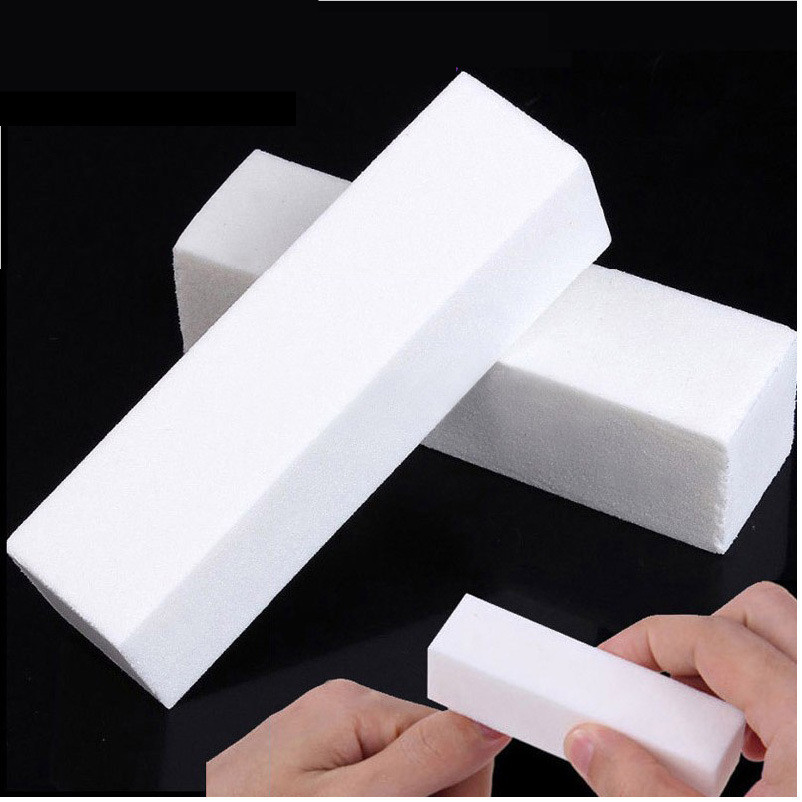 10Pcs/set Sanding Sponge Nail File Buffer Block for UV Gel Nail Polish DIY Nail Art Manicure Pedicure White Nail Buffers File