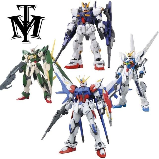 Anime Gaogao 13 cm HG 1/144 Gundam Wing Fenice XXXG-01WF modelo hot crianças figuras de ação brinquedo montado Phoenix Robot puzzle presente