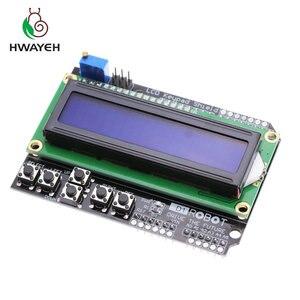 Image 2 - 1PCS LCD לוח מקשי חומת LCD1602 LCD 1602 מודול תצוגת עבור arduino ATMEGA328 ATMEGA2560 פטל pi UNO כחול מסך