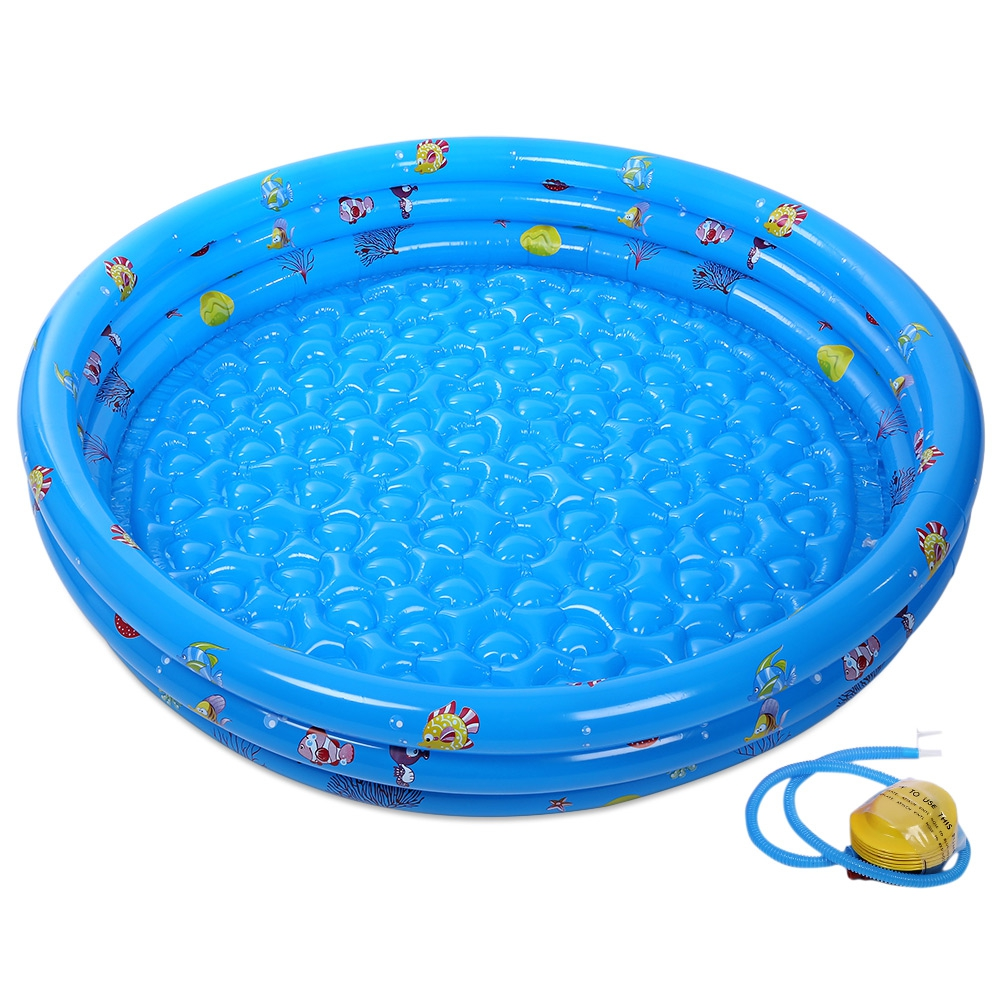 Inflatable baby swimming pool portable outdoor pool for for Best rated inflatable swimming pool