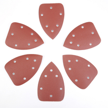 80 Grit 5 Holes Sanding Sheets Sandpaper Sand for Sander Grits Grinding Polishing