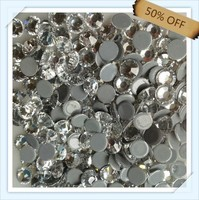 China Wholesale Austrian hotfix rhinestone SS20 crystal color 5mm flat back free shipping ,5mm stones with 1440 pcs each pack