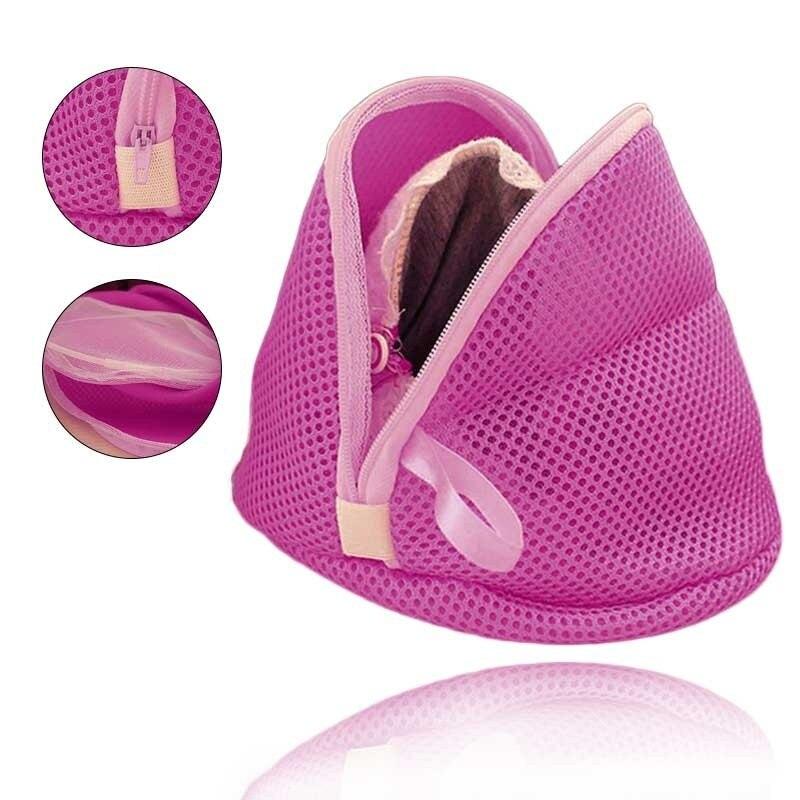 Women Bra Laundry Lingerie Washing Hosiery Saver Protect Mesh Small Bag  11
