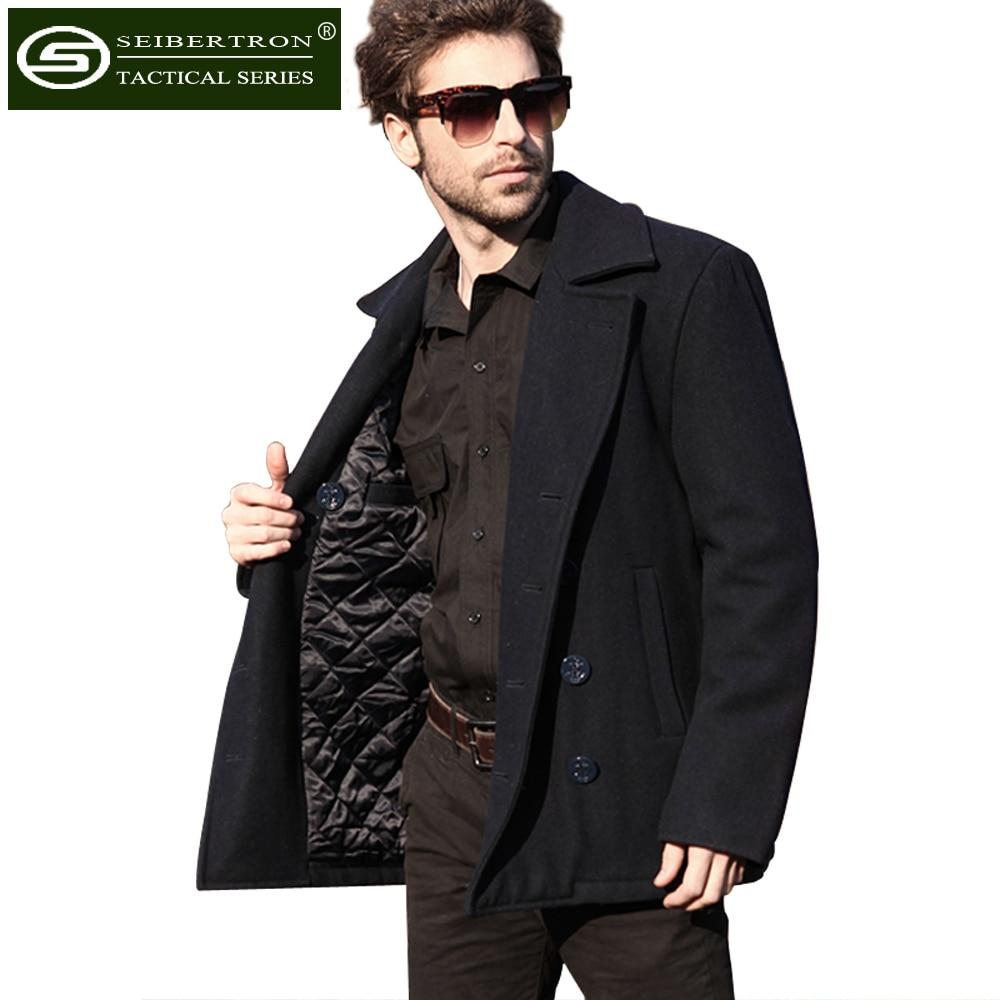 Aliexpress.com : Buy Seibertron Brand Winter Men's Woolen Coat US ...