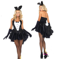 free shipping hot sale sexy costumes for women Little penguins and tail rabbit costume party costume