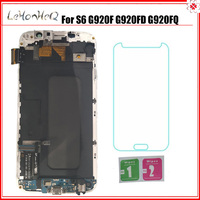 For Samsung Galaxy S6 G920F G920I LCD Display Touch Screen Digitizer Assembly For Samsung S6 G920FD G920FQ LCD with frame
