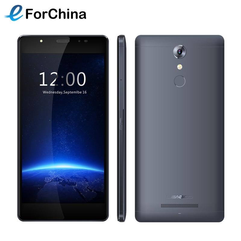 Original LEAGOO T1 Plus 16GB ROM 3GB RAM Smartphone 5 5 inch IPS Screen Android 6