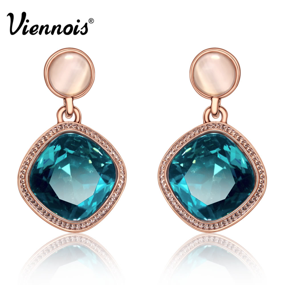 Aliexpress Viennois Fashion Rose Gold Plate Gp Square