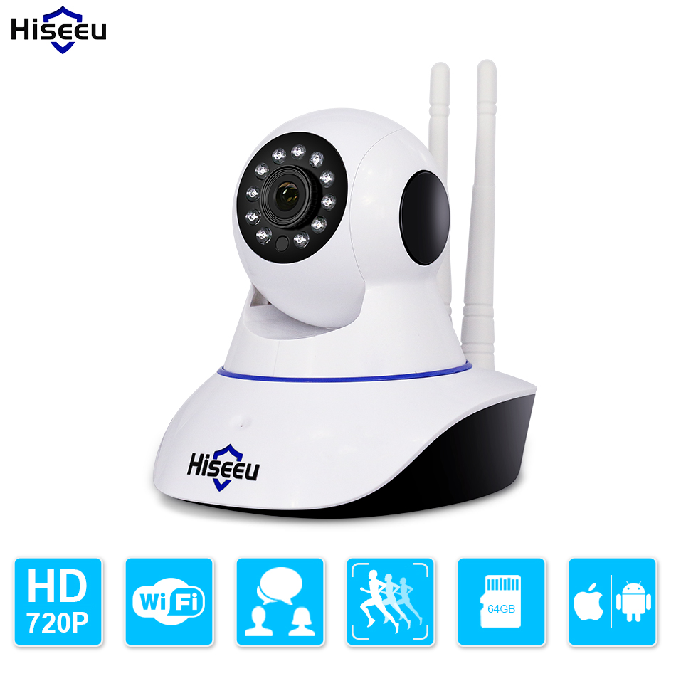 Hiseeu HD 720P Wireless IP Camera Wifi Night Vision wi-fi Camera High Quality IP Network Camera CCTV WIFI P2P Security Camera hiseeu hd 720p wireless ip camera wifi night vision wi fi camera high quality ip network camera cctv wifi p2p security camera