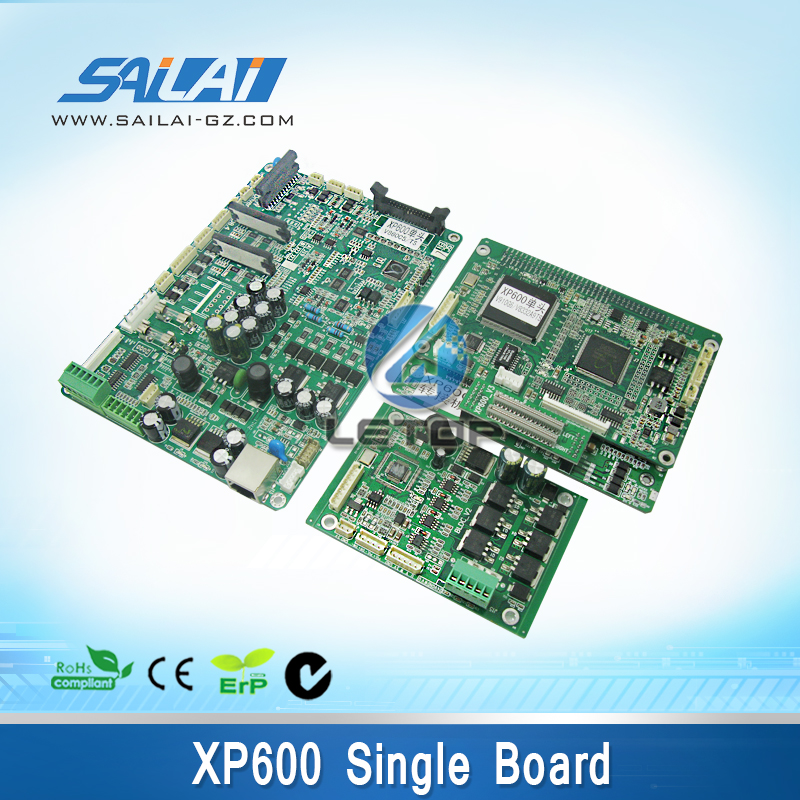 цены Hot sale!a set! inkjet printer control board and main board headboard for xp600 print head