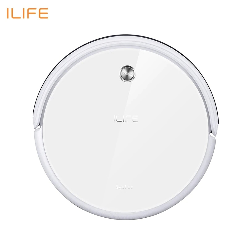 New Robot Vacuum Cleaner iLife A40 for Home Household 450ml Dustbin with Self-recharge Cyclone appliances wireless корм для кошек gourmet gold мусс курица конс 85г
