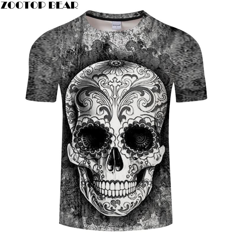 Ink&Skull 3D Print t shirt Men Women tshirt Summer Funny Short Sleeve O-neck Tops&Tees Hot Grey 2018 Drop Ship ZOOTOP BEAR