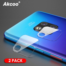 Akcoo 2 Pack Cameral Len Film for Huawei mate 20 lite X Pro screen protector with 0.2mm huawei mate20 pro cameral lens film