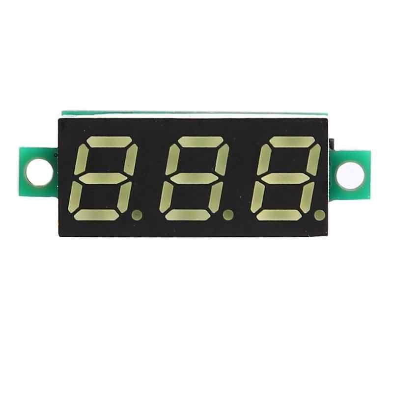 0,28 дюймов DC 0-100 V 3 провода мини-датчик, вольтметр светодиодный дисплей
