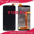 "5.0 ""1280*720 pantalla lcd probado para doogee y100 pro pantalla lcd con touch panel digitalizador asamblea"