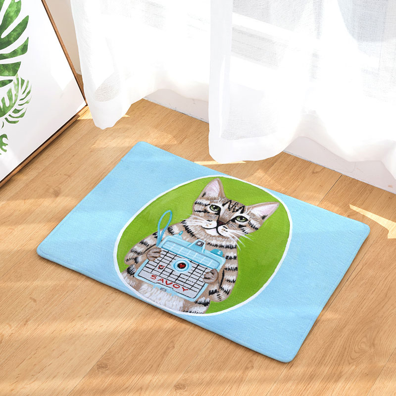 Monily Nordic Welcome Anti Slip Waterproof Door Mat Cartoon Cat Carpets Bedroom Rugs Decorative Stair Mats Home Decor Crafts-in Mat from Home \u0026 Garden on ...  sc 1 th 225 : nordic door mat - pezcame.com