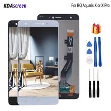 цена на Original LCD For BQ Aquaris X LCD Display Touch Screen Digitizer Replacement For BQ Aquaris X Pro Screen LCD Display Free Tools