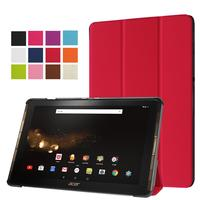 XSKEMP Ultra Slim Magnetic Flip Leather Case For Acer Iconia One Tab 10 A3 A40 B3