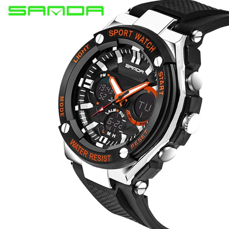 Men Sport Watch Waterproof Top Brand Luxury Military Watch LED Digital Quartz Wristwatch Relogio Masculino Reloj Hombre 2019 733 27