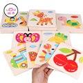 [Umu] 3d rompecabezas de madera de inteligencia del rompecabezas de rompecabezas juguetes de madera para niños de dibujos animados de animales niños montessori de madera juguetes educativos