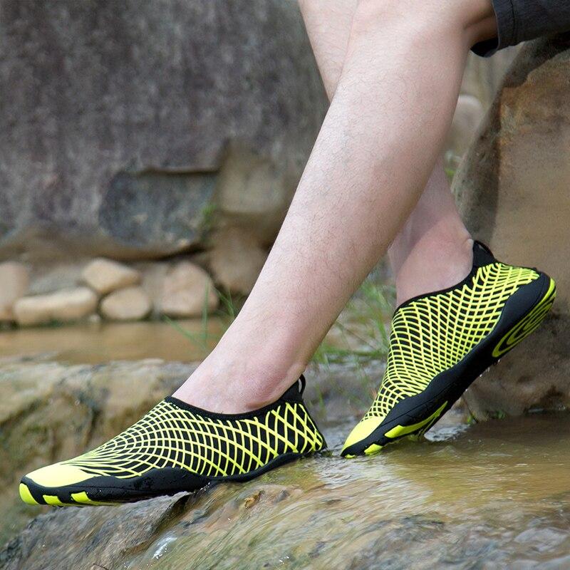 Мужская водонепроницаемая обувь WWKK, пляжные сандалии для дайвинга, пляжные шлепанцы, обувь для плавания, лето 2019
