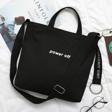 2019 Embroidery Letter Canvas  Handbag Sports Women Travel Bag Outdoor Shoulder Gym Casual Shopping Light Luggage
