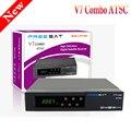 Mais recente Freesat V7 Combo ATSC Receptor Receptor de Satélite HD Suporte Set Top Box Suporte Cccam cline PowerVu Biss Key usb wi-fi