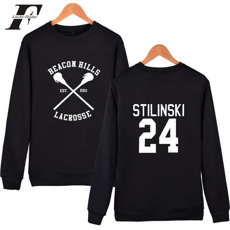 2017 christmas Capless tracksuit Stilinski 24 moletom oversized Hoodie sweatshirt men women  teen wolf Sweatshirts-in Hoodies & Sweatshirts from Men's Clothing on AliExpress - 11.11_Double 11_Singles' Day 1